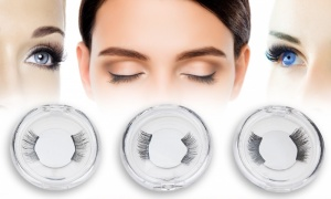 3 pairs including Glam-Volume-Sexy Double Magnetic Eyelashes
