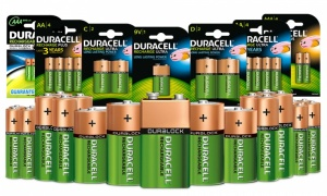 Duracell Rechargable Batteries