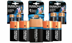 Duracell Ultra Power Batteries - C/D/9V