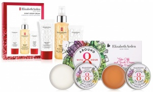 Elizabeth Arden Eight Hour Moisturizers and Lip Duo Protectant & Scrub