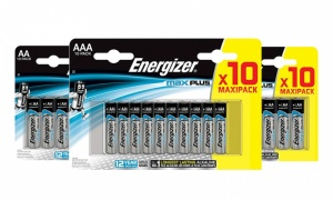 Energizer Max Plus - AA & AAA (10 Pack) Batteries