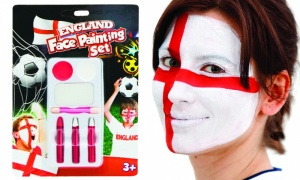 England Face Painting Set
