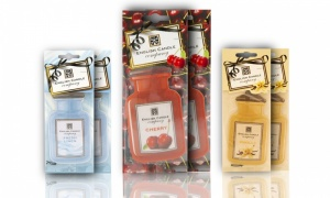 English Candle Company Scents 2D Car Air Freshener