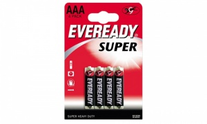 Everyday Super - AA & AAA (4 Pack) Batteries