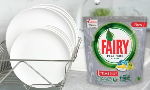 Fairy All In One Dishwasher Tablets Bundle