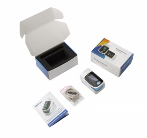 Fingertip Blood Pulse Oximeter