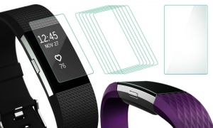 Pack of 6 Fitbit Charge 2 Screen Protector