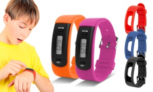 Kids AQ111 Fitness Tracker and straps