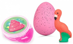 Tobar Flamingo Giant Egg With Magic Poo