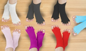Pair of Foot Alignment Socks - Assorted Colours