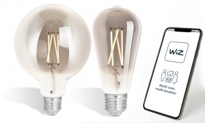 WIZ LED Filament Bulb Smoky E27