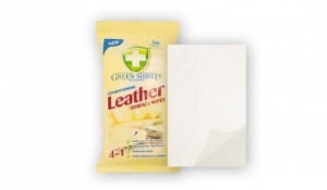 1x GREENSHIELD CONDITIONING LEATHER SURFACE WIPES