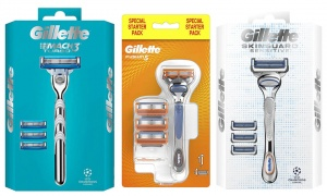 Gillette Razors Packs