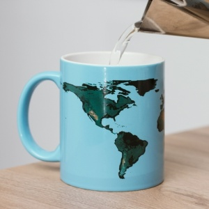 Global Warming Colour Change Mug