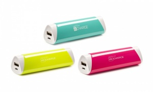 Techlink Recharge Round Powerbanks