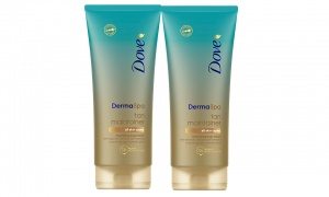 Dove 72H Active Tan Maintainer Skin Hydrating 2-In-1 Body Lotion 200 ML Pack of 2