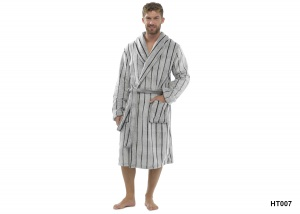 Mens Soft Fleece Robes - Various Designs