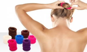 Hair spiral bobble