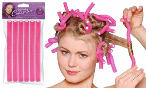 PMS Twistee Hair Rollers 6PC Set in Assorted Color