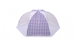Haven Mesh Food Cover Round - Blue