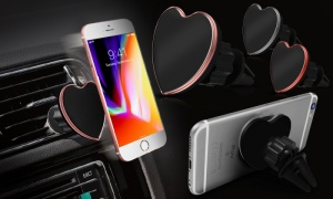 Heart Shaped Car Phone Magnet Holder