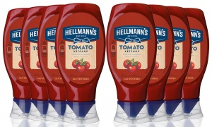 Hellmann's Tomato Ketchup 430ml - Pack of 8