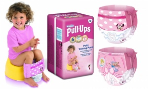 Huggies Pull-Ups Girls Large Size 6 12x3
