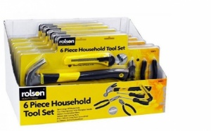 Rolson 6pc DIY Tool Kit