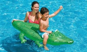 Intex - Inflatable crocodile