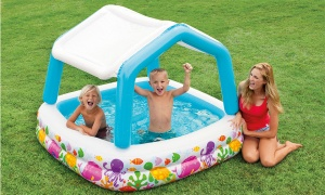 Intex 62''x62'' Sun Shade Pool in Shelf Box