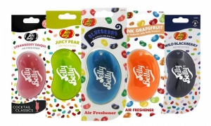 Jelly Belly 3D Jelly Bean Air Fresheners Pack of 3