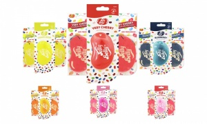 Jelly Belly Scents 2D and 3D Car Air Freshener