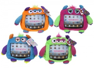 Kids Monster Party Plush Soft Toy Ipad Tablet Holder