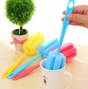 Kitchen Cleaning Tool Sponge Brush