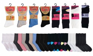 Ladies Socks with Assorted Designs