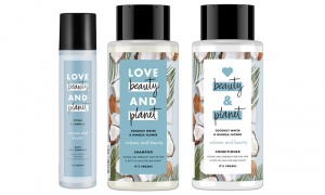 Love Beauty Planet Volume & Bounty Conditioner and Shampoo