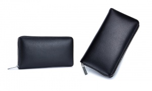 Flow Leather Travel Wallet with RFID