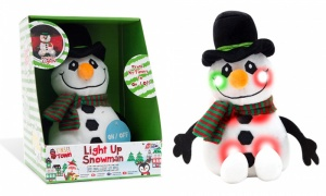 RMS Light Up Plush Snowman