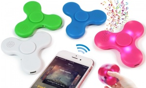 Light Up Bluetooth Finger Spinner with speakers