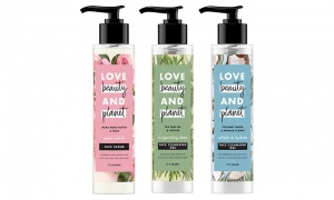Love Beauty Planet Face Cleansing Gel and Moisturising Scrub 125ml