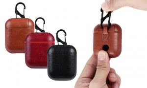 Aquarius Luxury Leather Case for Earpod