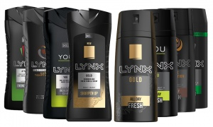 Lynx Shower Gel Body Wash With Lynx Body Spray