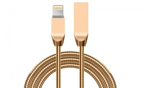 Spring Zinc Alloy Cable Iphone Cable