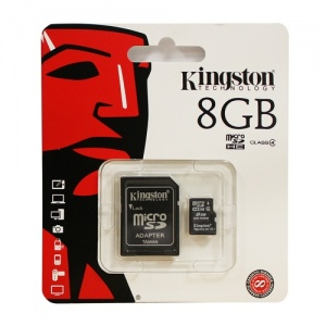 Kingston Micro SD Card with Adaptor