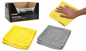 Pack Of 5 Micro Fibre Cleaning Towels