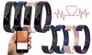 Aquarius Fitness tracker with HRM