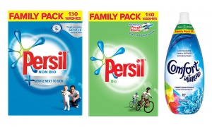 Persil 130 Washes Washing Powder with Comfort 85 Washes Fabric Conditioner