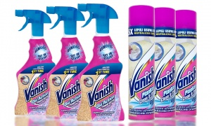 Vanish Carpet Spray And  Cleaner Pack Of 3