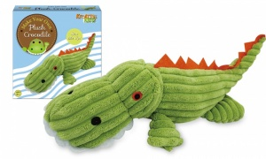 Make Your Own Plush Crocodile