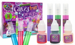 RMS Make Your Own Glitzy Fruit Sprays